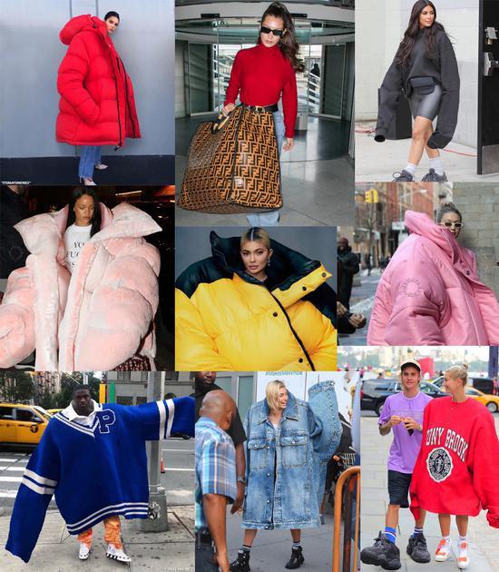 oversize单品到底怎么选 穿对时髦穿错变哈比人