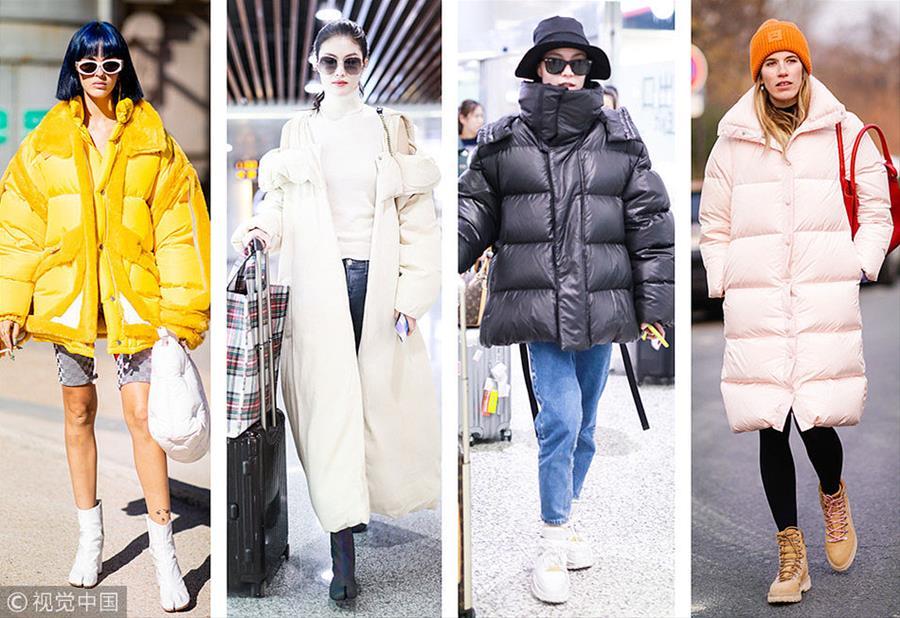 """今年冬天""""有点肿"""" """"棉被式羽绒服""""的安全感"""