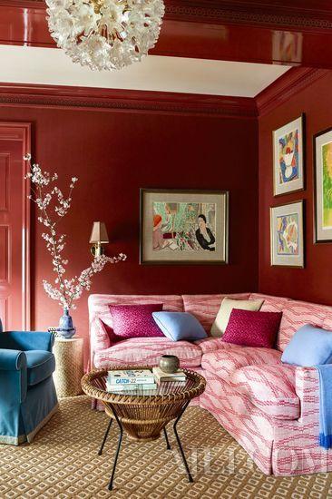 红橙黄绿蓝那么多颜色 是时候摒弃裸奔的大白墙了!