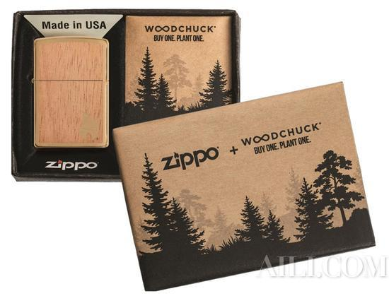 Zippo携手WOODCHUCK USA推出系列打火机,一起助力全球森林重建